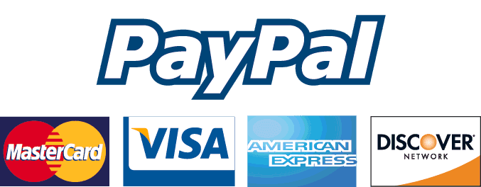 All major credits accepted via paypal or worldpay secure checkout